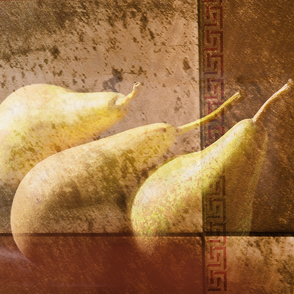 Pears in Gold