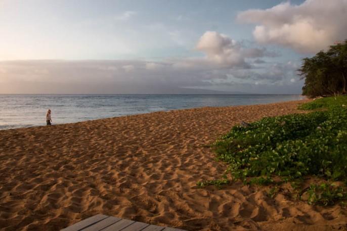 Anne on Ka'alipali Beach