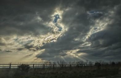 England - Afternoon Sky