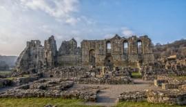 England - Rievaulx Abbey Ruins - 6869