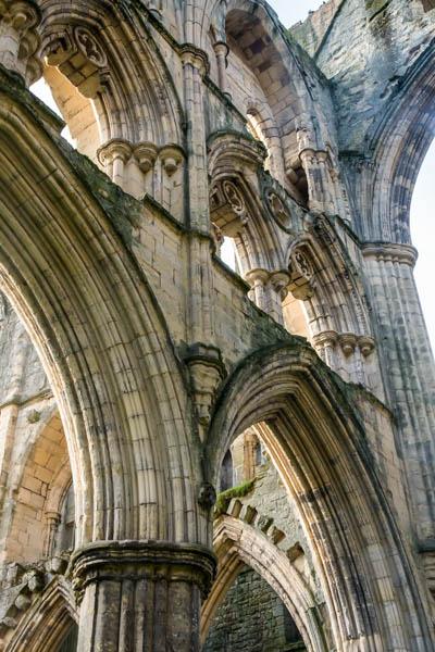 England - Rievaulx Abbey Ruins - 6897