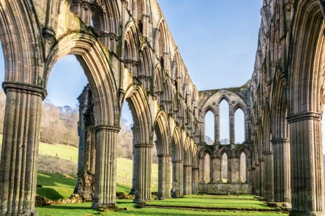 England - Rievaulx Abbey Ruins - 6901