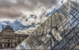 At the Louvre #2