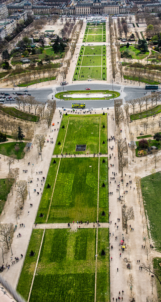 High Above the Champs de Mars