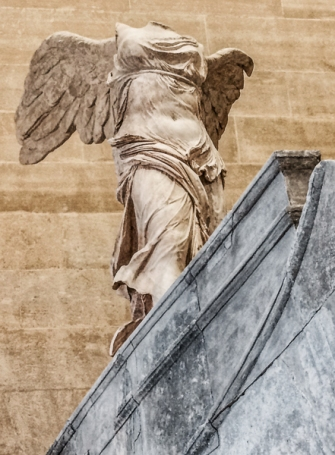 Winged Victory at the Louvre