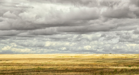 A Cloudy Day on the Prairie