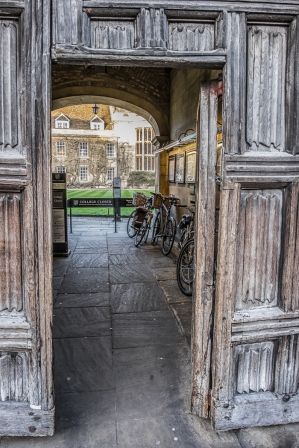 King's College Gate Cambridge