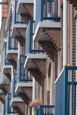 Spaarndammerbuurt Balonies (Amsterdam)